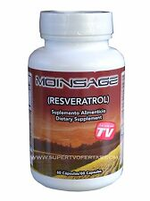 RESVERATROL MOINSAGE 60 CAPS ORIGINAL 100% NATURAL