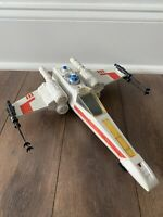 STAR WARS X WING FIGHTER BRIGHT WHITE KENNER VINTAGE 1978 ANH ESB ROTJ COMPLETE