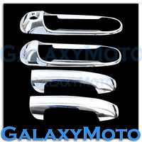 Chrome plated 2 Door Handle W/O Passenger Keyhole Cover for 02-08 Dodge Ram