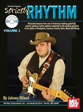 JOHNNY HILAND - STRICKLY RHYTHM GUITAR BOOK + CD NEW