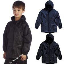 "Regatta Stormbreak Kids Jacket 32"" W908800032 Black"