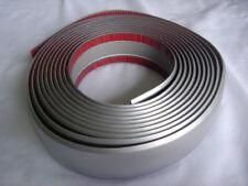 CAR DOOR BUMPER SCRATCH PROTECT CRASHWORTHY TRIM 4.5CM(W) X 538 CM( L ) SILVER