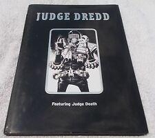 Judge Dredd Featuring Judge Death Hardcover HC Rare Titan 2000 AD Bolland art