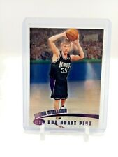 1998-99 Topps Stadium Club One of a Kind 64/150 Jason Williams #107 Rookie A+