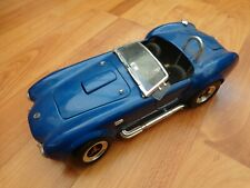 1/18 SCALE ROAD SIGNATURE CLASSIC SHELBY COBRA 427 S/C BLUE 40TH ANN DIECAST CAR