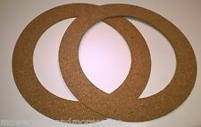 2 x GREENFIELD TRACTOR 8, 11, ANNIVERSARY 12-30,12-32 DRIVE DISC CORK CLUTCH PAD