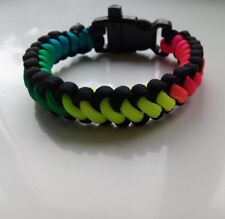 PARACORD RAINBOW FRIENDSHIP BRACELET.