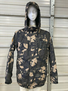 Burton Analog Snowboard Jacket - Mens M - Camouflage Camo - AG