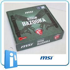 Placa base mATX B150 MSI B150M BAZOOKA Socket 1151 con Accesorios