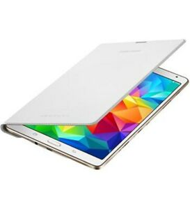 Official Samsung EF-DT700BWEG Flip Cover White for Samsung Galaxy Tab 8.4 S
