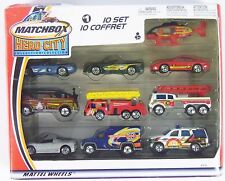 Matchbox Hero-City Collection #1 10 Pack Set  Sealed 91516