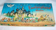 Vintage Walt Disney's Fantasyland Board Game Parker Bros 1956 EUC WDW
