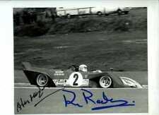 MERZARIO & REDMAN FERRARI 312 PB Nurburgring 1000 KM 1972 firmato fotografia 1