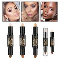 Cream Face Eye Foundation Concealer Highlight Pen Contour Stick Makeup SH