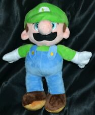 "9"" Luigi Good Guys Super Mario Bros. Brothers Plush Toys Dolls Stuffed Animals"