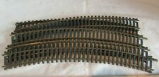 """HO SCALE ATLAS LOT OF 10-9"""" LONG  CURVED TRACK COPPER"""