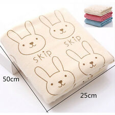 Rabbit Microfiber  Kid Beach Bath Towel For Bathing Swimming Absorbent Dry New