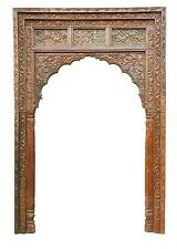 India Internal Installation Gate Door Frame Wide Decorative Bow Carving