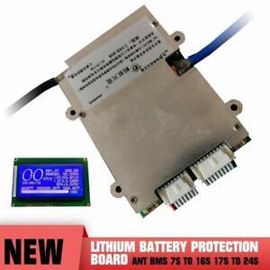 Lithium Battery Protection Board Smart Bluetooth Ant BMS 7S to 16S 17S to 24S UK