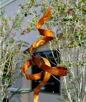 Freestanding Metal Sculpture - Modern Indoor Outdoor Statue - Yard Art Decor
