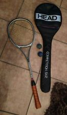 "Head Competition Sx2 Squash Racquet 27"" w/Cover & 2 practice balls (Preowned)"