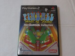 Pinball Hall of Fame The Gottlieb Collection Sony PlayStation 2 PS2 2004 E-Every