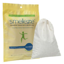 SMELLEZE Reusable Basement Odor Removal Deodorizer: Eliminate Smell in 150 Sq.Ft