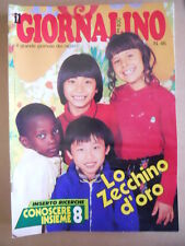 GIORNALINO n°46 1980 PINKY - Capitan Erik Lucky Luke Piccolo Dente [G409A]