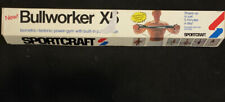 Bullworker Super X5 Power Gym - By Sportcraft - With Wall Chart - Vintage 1981