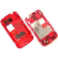 100% autentico HTC Desire C Posteriore Telaio Alloggiamento + fotocamera vetro + vivi Altoparlante Nero
