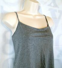 New With Tags LOFT Cami / Tank Women Large Stretch Gray Adjustable Strap