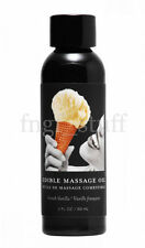 Natural Flavored Vanilla Massage Oil Gel Lube Edible Personal Lubricant Oral Sex