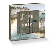 Fish and Ships Open Edition Hardback Book by Rebecca Lardner