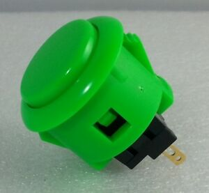 Japan Sanwa Green Start Buttons x 1 pc OBSF-24-G Video Arcade Parts