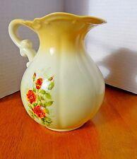 Vintage Ceramic Pitcher - Roses