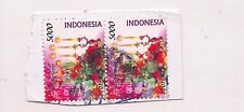 2 INDONESIA stamps.