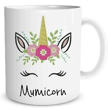 Unicorn Coffee Mug Mumicorn Mum Gift Mothers Day Birthday Funny Cups WSDMUG979