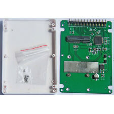 """mSATA to 2.5"""" inch IDE mSATA to 2.5"""" inch PATA Adapter Card with 9.5mm Case"""