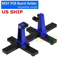 Adjustable Printed Circuit Board Holder Frame PCB Soldering Assembly Stand Clamp