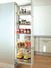 Soft Line Pull Out Pantry Unit - 300mm White