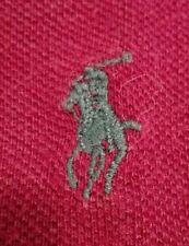POLO RALPH LAUREN - maglietta t-shirt - bordeaux / vinaccia - M - originale