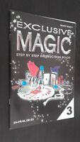 Exclusivo Magic Hanky Panky Step By Step Instrucciones Book N º 3 2010 Tbe