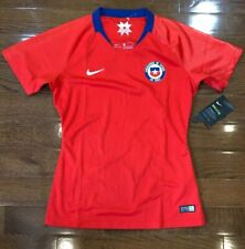 Womens Size Small Chile National Soccer Team Jersey Red Nike