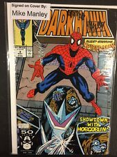 Darkhawk Marvel Comics Signed/Autographed By Mike Manley Issue#3