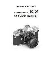 Asahi Pentax K2 Camera Service Repair Manual