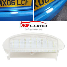 1X LED Number License Plate Light For Renault Twingo I 93-07 Clio MK2 98-06