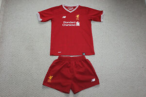 Young Boys Liverpool Shirt and Shorts