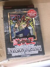 YUGIOH    INVASION OF CHAOS    SPECIAL EDITION      BRAND  NEW   SEALED