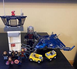 LEGO Marvel Super Heroes Super Hero Airport Battle set 76051 USED Giant Man