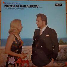 SXL 6530 Russian Songs / Nicolai Ghiaurov Bass / Zlatina Ghiaurov Piano